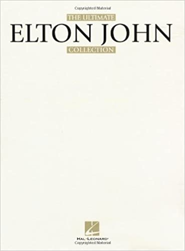 ELTON JOHN THE ULTIMATE COLLECTION SONGBOOK piano pdf
