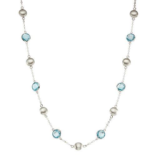 David Yurman Blue Topaz Necklace - 3