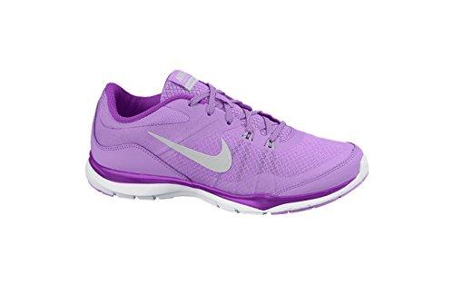 Nike 724858 502, Zapatillas de Deporte Unisex Adulto Varios colores (Fchs Glw /     Mtllc Slvr Vvd Prpl W)