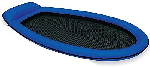 31dM52g3YwS Intex Pool Lounge Luftmatratze aufblasbar Netzboden für Schwimmbad grün oder blau