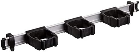 """Toolflex 1アルミレール 94cm (21.5インチ) 3ツールストレージマウント ガレージカラー 5-3 21.5"""" 5-3-1"""