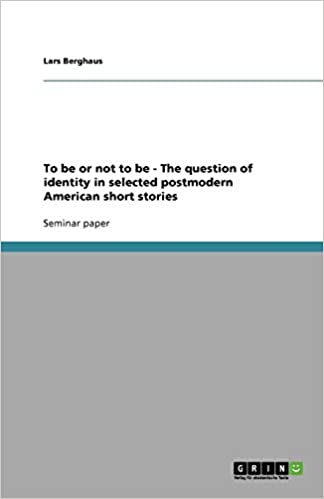 Amazon com: To be or not to be - The question of identity in