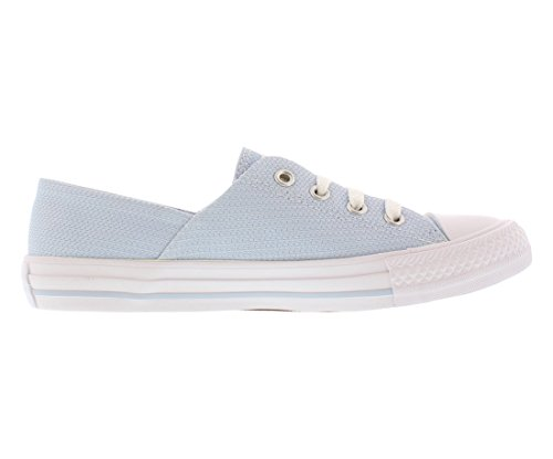 Converse Dames Chuck Taylor All Star Koraal Ox Sneaker Blauw / Wit