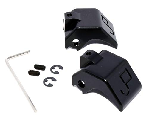 - Billet aluminum convertible top latch rebuild kit for Mazda Miata (Anodized Black)