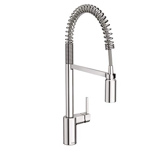 Moen 5923 Align One-Handle Pre-Rinse Spring Pulldown Kitchen Faucet with Power Clean, Chrome