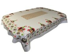 (MODA Early Bird Vintage Style Rooster Tablecloth By, 52