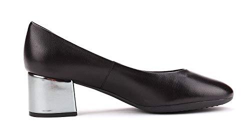 Headmistress Flexx Talon Noir Lisse Chaussure The Femme pHwqxTT5