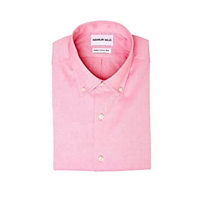 Newbury Mills Peach Oxford Button-Down Dress Shirt for sale