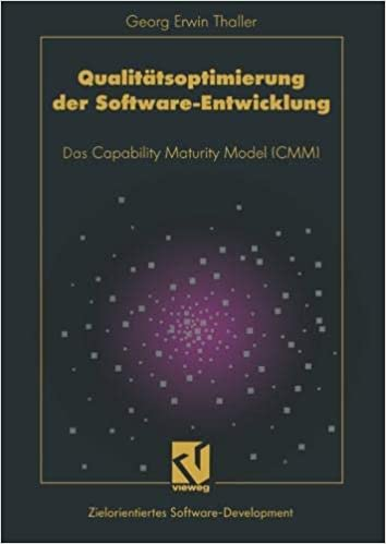 94e1fc667115 Qualitätsoptimierung der Software-Entwicklung  Das Capability Maturity  Model (CMM) (German Edition) (German) 1993rd Edition