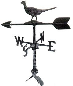 (Montague Metal Products 24-Inch Weathervane with Pheasant Ornament )