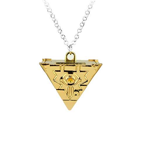 Yuesha Aiyin Metal YuGiOh Millenium Puzzle Necklace Pendant from Yuesha Aiyin