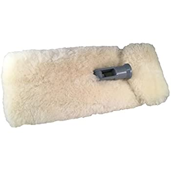 "Mary Moppins 13"" Pure Lambswool Wash and Pad Holder"