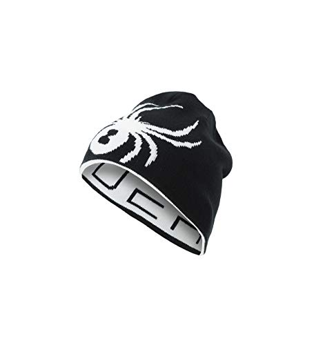 Spyder Boys Big Bug - Spyder Boys' Reversible Bug Hat, Black/White, One Size