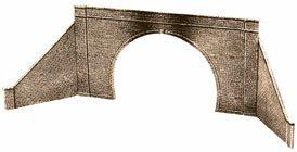 - Peco HO Double Tunnel Portal w/Wing Walls