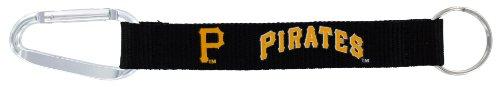 (MLB Pittsburgh Pirates Carabiner Lanyard Key Ring)