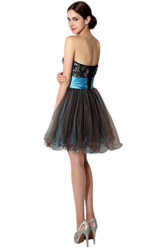 Missdressy -  Vestito  - linea ad a - Donna marrone 38