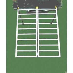 Great Day LL42717 7'' Rung Ramp (Bi-Fold Lite,1250 lb)