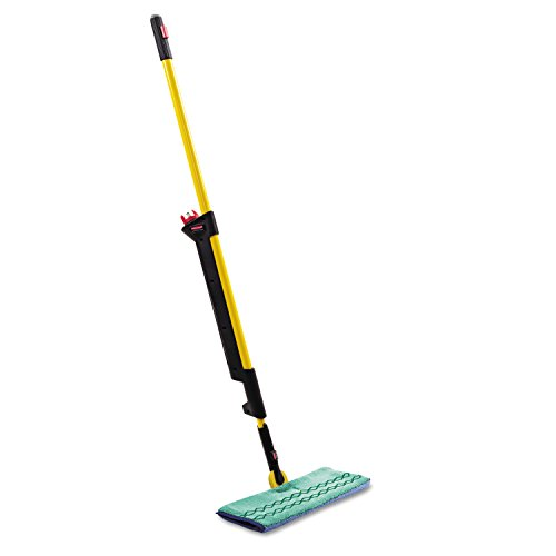 Rubbermaid Commercial 1835529 Pulse Microfiber Floor Cleaning System, Handle with Double-Sided Mop Frame,
