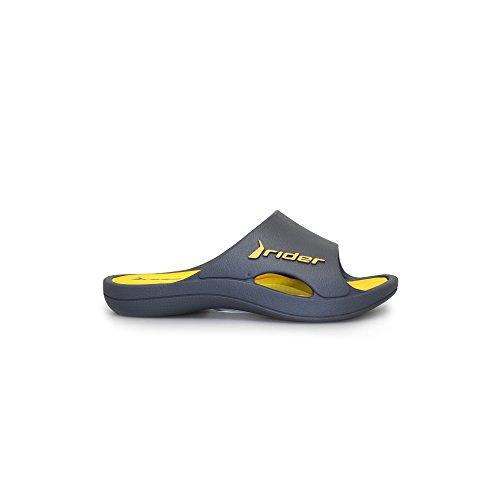 Lunar Bay V, Zapatos de Playa y Piscina Infantil, Gris (Black 22853), 28/29 EU
