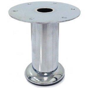 Imex Cylindrical Chrome Furniture Legs