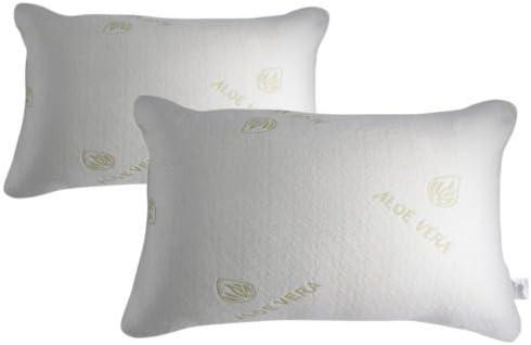 Aloe Vera 4 Memory Foam Luxury Pillows