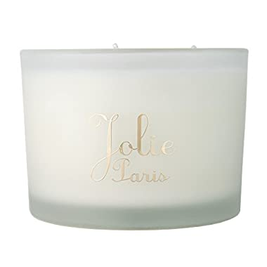 Jolie Sustainable Luxury Candle, vanille 13 Ounce
