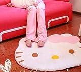 Super Soft Cute Cartoon Hello Kitty Non-slip Door Mats Soft Children Area Rugs Room Bed Carpet