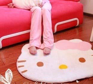 Hello Kitty Carpet - Super Soft Cute Cartoon Hello Kitty Non-slip Door Mats Soft Children Area Rugs Room Bed Carpet