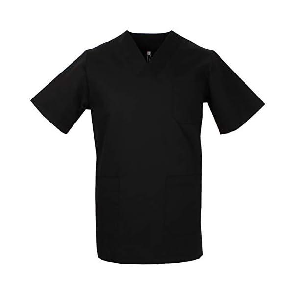 MISEMIYA - Camisa Camisetas Unisex Uniformes LABORARES ESTÉTICA Dentista - Ref:T817 3