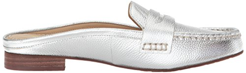 Volatile Womens Showcase Loafer Flat Silver K2NnQi
