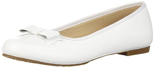 Elephantito Girls' Camille Ballet White Flat SSrg8qw