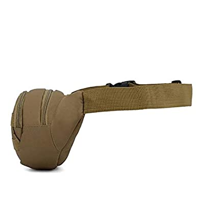 Sport Multifunzione Marsupio tattico Mimetico per Viaggi Equitazione Escursionismo Feste Unisex con Cintura Regolabile Corsa Ikavee Impermeabile