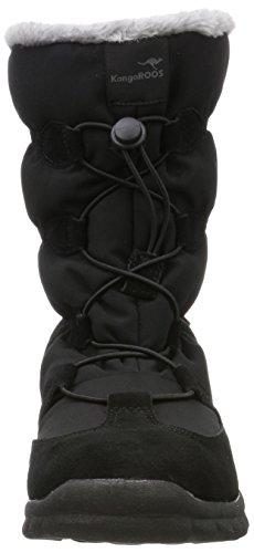 KangaROOS K-Frost, Botas de Nieve Unisex Adulto Negro (Jet Black)