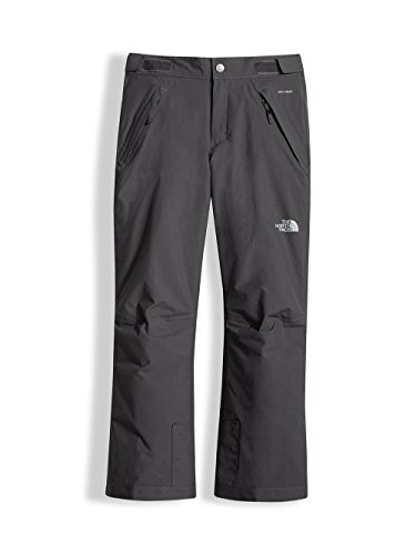 The North Face Girls' Freedom Insulated Pants - Graphite Grey, (All Mountain Graphite Skis)
