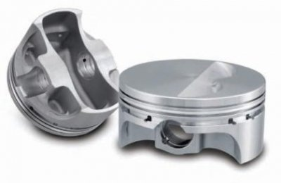 SRP (281919) 4.500 Bore Domed Piston Set for 502 Big Block Chevy (Block Big Pistons Chevy)
