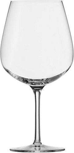 Eisch 25504010 Vinezza SensisPlus Lead-Free Crystal Burgundy Glass, Set of 2, 26 oz, Clear