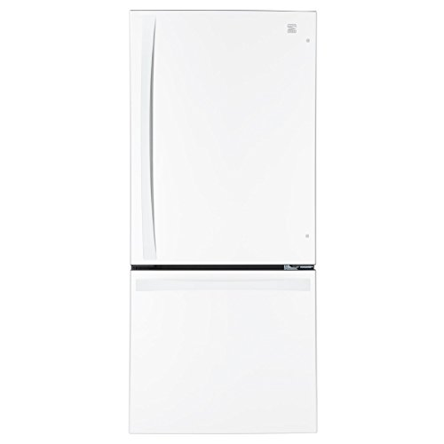 Kenmore Elite 79022 22.1 cu. ft. 2 Door Bottom-Freezer Refrigerator in White, includes delivery and hookup