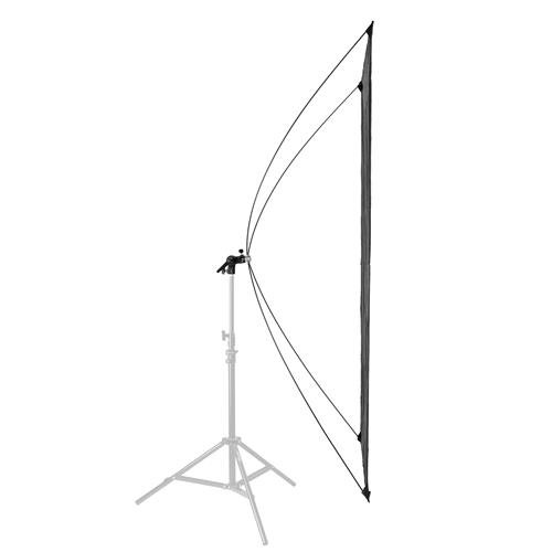 Glow Light Reflector Panel for Photo Studio Photography 35 x 70 with Stand Bracket Rotating Rod Adapter, Aluminum Rods, Carry Bag by Glow (Image #4)