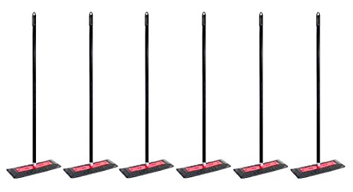 SNO PRO by Sno Brum Commercial Grade Snow Removal Tool with 48'' Handle–Clear snow off hundreds of cars, trucks, and other vehicles quickly without scratching paint or damaging accessories– 6pk by Sno Brum (Image #1)