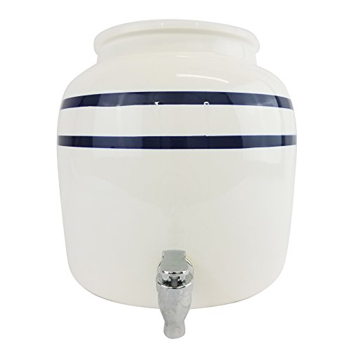 5 gallon ceramic crocks - 7