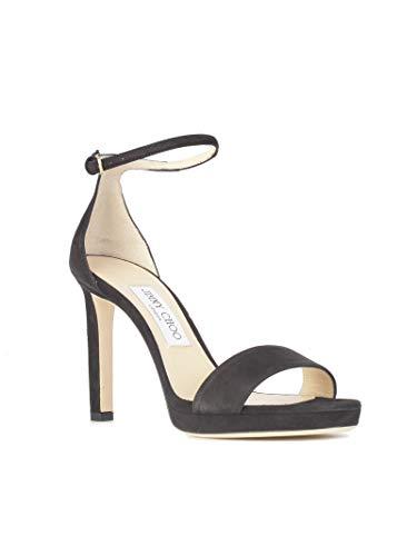 Talons Jimmy À Femme Cuir Noir Choo Chaussures Misty100sueblack 76Ybfyg