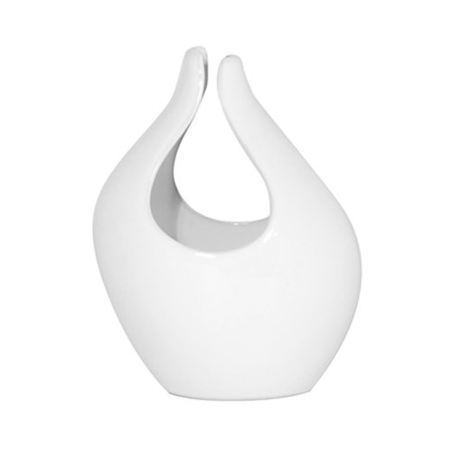 Chrome Torre /& Tagus 900497 Tall Open Vase
