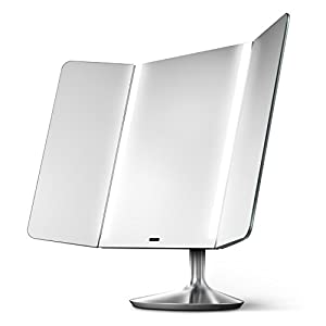 Amazon Com Simplehuman Sensor Mirror Pro Wide View