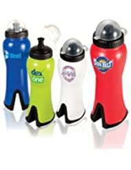 Wedge 24 Oz Water Bottle 100 QUANTITY 4 55 EACH PROMOTIONAL PRODUCT BULK BRANDED With YOUR LOGO CUSTOMIZED