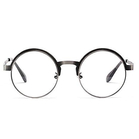 fffbc77224 Cloudings(TM)Oversized Round Metal Frame Glasses For Men Women ...