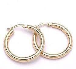 CHANTI - Aros oro en oro 14 quilates - Model:54426