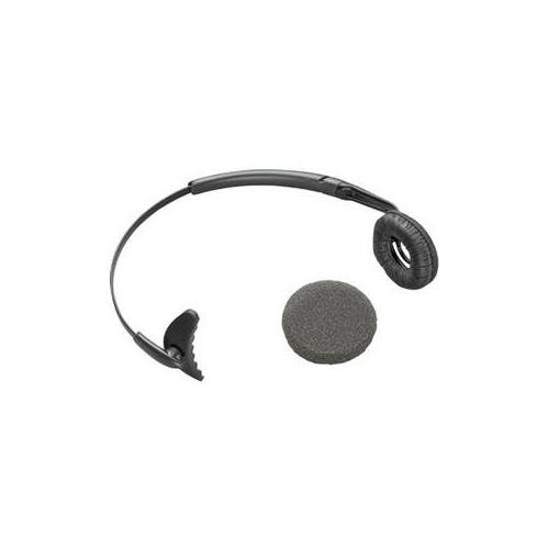 Plantronics Leatherette Ear Cushioned Headband For Cs50 Over-The-Head Wearing Style (Plantronics Headband Replacement)