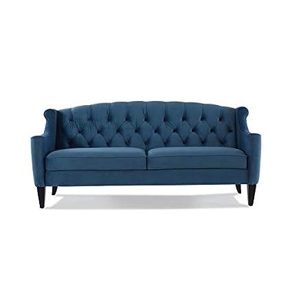 Amazon.com: Brika Home - Sofá tapizado con botón en color ...