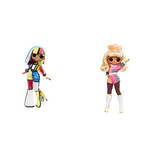 L.O.L. Surprise! O.M.G. Lights Angles Fashion Doll with 15 Surprises w O.M.G. Lights Speedster Fashion Doll with 15 Surprises