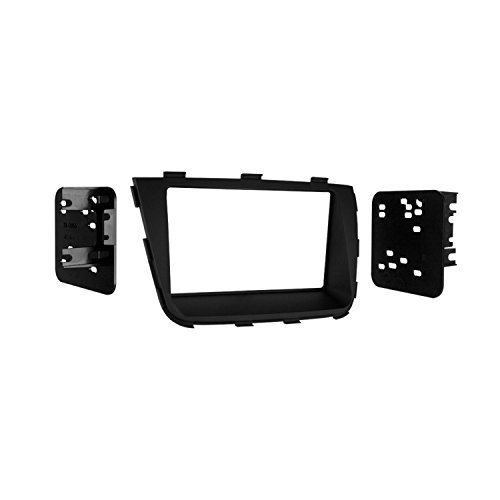 Metra Electronics 95-7355B Custom Fit Mounting Kit ISO Double DIN Radio Provision Incl.: Radio Housing Trim Panel/Brackets/Screws Custom Fit Mounting Kit